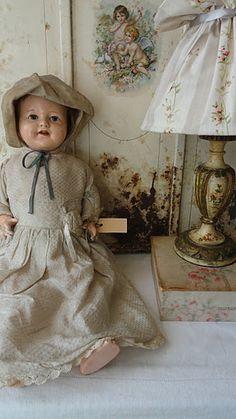 Old doll scene