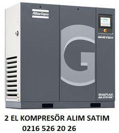 Atlas Copco Marka GA 22 Modeli 2009 İmalat yılı olan çok temiz vidalı kompresör . kompresör peroyodik bakımları kompresör servis hizmeti veren firmamız tarafından yapılmış olup bir yıl taraf...