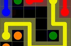 """Flow Free Game Review  """"Free Flow is a simple game with a simple aim. Connect the pipes, but at the same time all of the squares on the grid must be covered within a fixed number of moves. In other words even if the player manages to connect all of the pipes, he will be penalized in one form or the other as per determined by the game."""""""