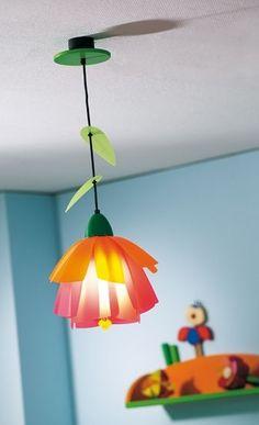 Flower lamp by Haba - Love it!!