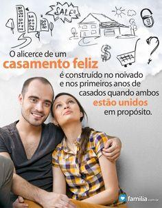 Familia.com.br | Construindo um alicerce de um casamento feliz no início da vida conjugal  #Casamento #Alicerce #Felicidade #Amor