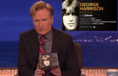 BEATLES  MAGAZINE: GEORGE HARRISON WEEK ON CONAN (w/Paul Simon)