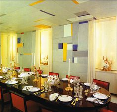 Nelson Rockefeller Fifth Avenue Residence - dining room