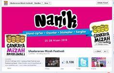Çankaya Belediyesi ile birlikte 25-28 Nisan 2013 tarihleri arasında gerçekleşen Çankaya Mizah Festivali'nin sosyal medya çalışmaları tarafımdan yürütülmüştür.
