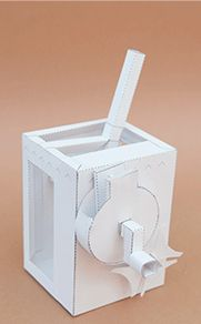 Geneva Crank Mechanism. Download and Make | www.robives.com