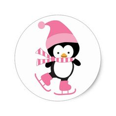 Cute Ice Skating Penguin in Pink Art Drawings For Kids, Art For Kids, Ice Skate Drawing, Preschool Crafts, Fun Crafts, Ice Skating Images, Penguin Clipart, Penguin Drawing, Penguin Party