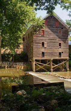 Kymulga Grist Mill by rxtom2006, via Flickr