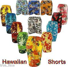 New true face mens multi #pockets hawaiian #shorts s- 3xl for holiday #beach spor,  View more on the LINK: http://www.zeppy.io/product/gb/2/231979755659/