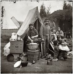 Shorpy Historical Photo Archive :: Tent Life: 1861