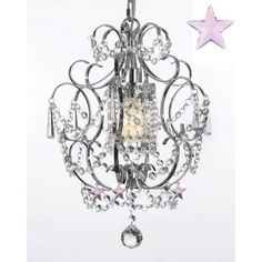 Harrison Lane 1 Light Crystal Chandelier