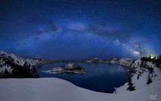 crater lake mountain