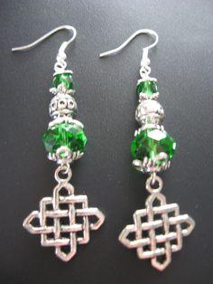 Irish Jewelry Earrings  Celtic Goddess Earrings by jewelryrow, $12.50 https://www.etsy.com/listing/73649330/irish-jewelry-earrings-celtic-goddess