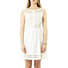 Rochie casual alba Aourell White Dress, Casual, Shopping, Dresses, Fashion, Gowns, Moda, White Dress Outfit, Fashion Styles