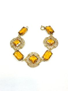 ~antique 1920s Art Deco Stepped Mirrored Glass Necklace!~~ Products Hot Sale Vintage & Antique Jewelry
