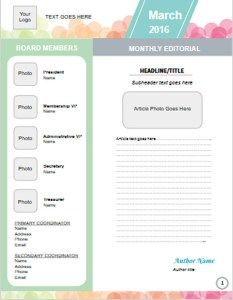 free moms club newsletter template don t forget to check out the