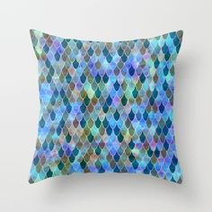 Mermaid+Throw+Pillow+by+Schatzi+Brown+-+$20.00