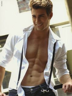 Justin Clynes, cute, male model,