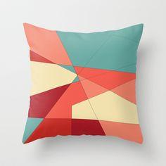 Strawberry Throw Pillow by DuckyB (Brandi) - $20.00 (Society6)