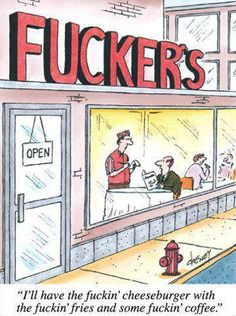 F**ker's Open late Everyday