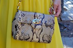 BRIGHID VINTAGE PYTHON nature by MARTA PURRIÑOS - ADDICT BE ICONIC BLOG #bags #luxuru #trendy #fashion #alilovesyou #madeinspain