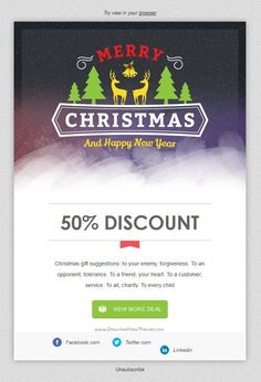 Xmas 4 is a wonderful responsive merrychristmas email template xmas 4 is a wonderful responsive email template christmas offer greeting cards m4hsunfo