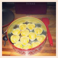Lemon cupcakes made for work