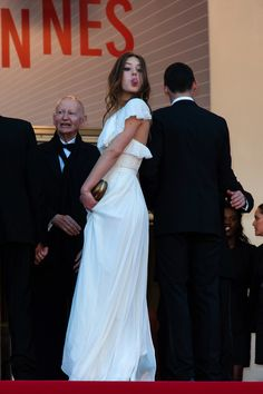 Adele Exarchopoulos - 'Zulu' Premieres in Cannes