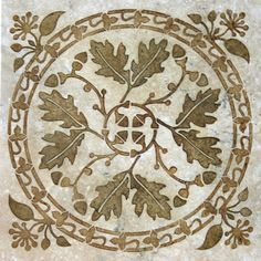 Stencil Ideas Celtic, Oak Leaf, Tiles Tegels, Quilting Inspiration ...