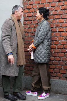 The Sartorialist / On The Street…After Fendi, Milan // #Fashion, #FashionBlog, #FashionBlogger, #Ootd, #OutfitOfTheDay, #StreetStyle, #Style