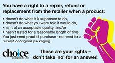 consumer-rights Australia