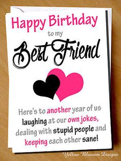 Ideas For Funny Friends Cards Bff 50th Birthday Quotes, 50th Birthday Cards, Bff Birthday, Birthday Cards For Friends, Best Friend Birthday, Unicorn Birthday Parties, Birthday Greeting Cards, Birthday Greetings, Birthday Gifts