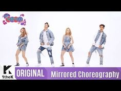 [Mirrored] KARD(카드)_Hola Hola Choreography(거울모드 안무영상)_1theK Dance Cover Contest - YouTube
