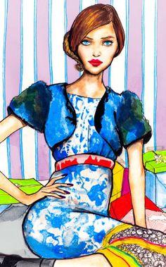 ilustrador de moda-Danny Roberts