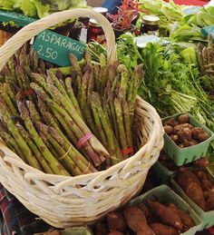 Asparagus for sale by Stephen Just, via Flickr