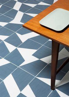 Geometric tiles to add ornament - Puzzle tiles by Barber & Osgerby Design Ok Design, Floor Design, Tile Design, House Design, Floor Patterns, Tile Patterns, Interior And Exterior, Interior Design, Outdoor Tiles