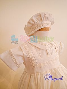 Christening Gown for boy  mod. Miguel
