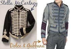Military band jackets