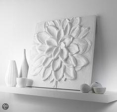 Witte bloem.