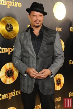 """Taraji P. Henson and Terrence Howard attend the premiere of """"Empire"""" in Hollywood, California. Serie Empire, Empire Cast, Empire Fox, Empire Season, Season 2 Episode 1, Taraji P, Empire State Of Mind, Black Celebrities, Celebs"""