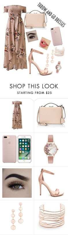 """Araminta"" by maryrbarker ❤ liked on Polyvore featuring Mark Cross, Olivia Burton, Rebecca Minkoff and Alexis Bittar"