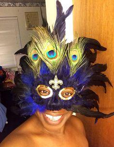 My 2014 Mardi Gras Mask