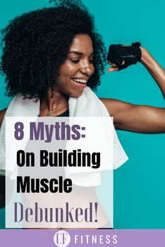 8 myths on how to gain lean muscle for women!     #muscle#gainmuscle Easy Weight Loss, Weight Lifting, Easy Workouts, At Home Workouts, Hiit, Cardio, Women Muscle, Best Supplements, Injury Prevention
