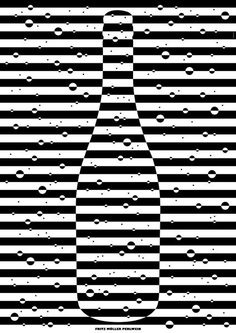 """Fritz Müller Perlwein"" by Timo Thurner - this offset of the lines to create a pattern is wonderfully and simply done."