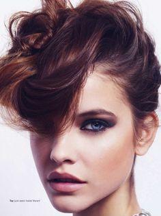 Glamour UK Photographer: Simon Emmet Model: Barbara Palvin Styled by: Alessandra Steinherr Hair by: Stephane Lancien Make-up by: Val Garland...