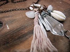 Asterion  assemblage cluster charm necklace  by sparrowsalvage, $55.00