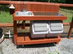 Garden sink and counter Gardens Pinterest Gardens Sinks and