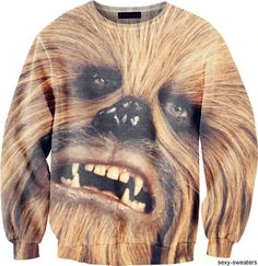 I'm no Star Wars fan, but there's something about this sweater that is amazing