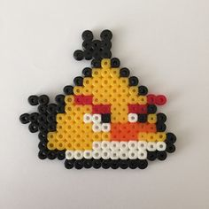 Angry Birds coaster Hama beads by LellyLoos