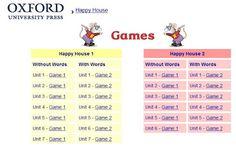 Nápady pro školy - 1. stupeň ZŠ: Happy House 1, 2 - hry pro děti Happy House, Words, Horse