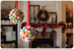 Gum Drop Ornament Pomander Craft — My Blessed Life™